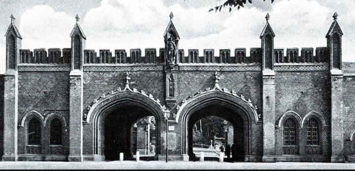 Восемь городских ворот Кёнигсберга